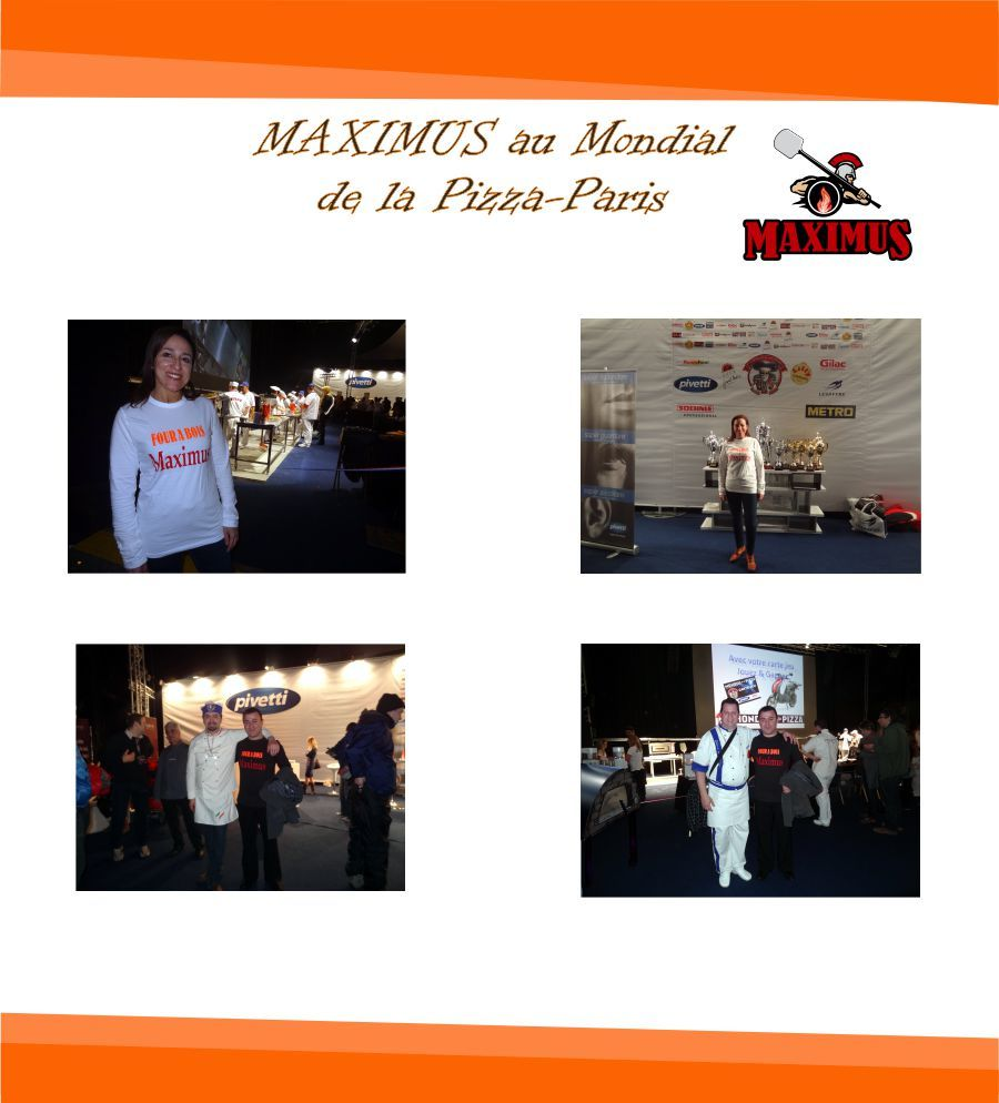 Four a Bois MAXIMUS Mondial de la Pizza