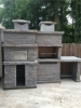 Picture of Barbecue en Pierre et Four a Bois PR4740F