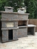 Picture of Barbecue en Pierre et Four a Bois PR4740F