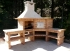 Picture of Barbecue d'angle avec Four AV360B