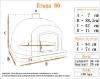 Picture of Four Pizza et Pain maison - BRAGA 90cm