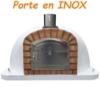 Picture of Four a bois et pizza exterieur LUIGI 100 cm