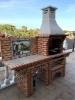 Picture of Barbecue en Brique pour Jardin avec évier CE5010F