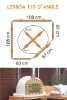 Picture of Four a pizza et pain  de jardin - LISBOA 110cm
