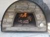 Picture of Barbecue en brique et pierre avec four a bois MAXIMUS AV240F