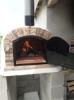 Picture of Four a bois et pain Ventura Rouge 120cm